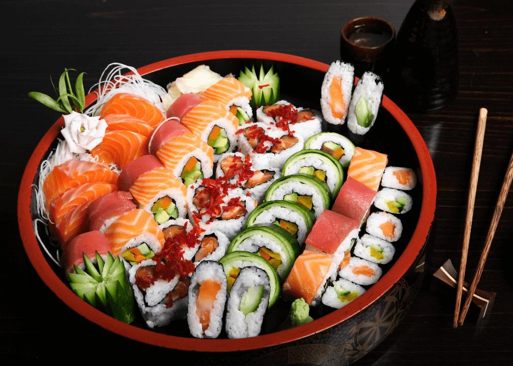 giardini d'oro sushi box